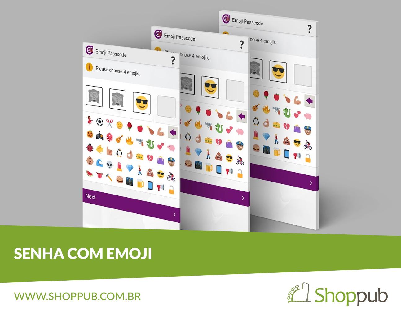 Senha com Emoji