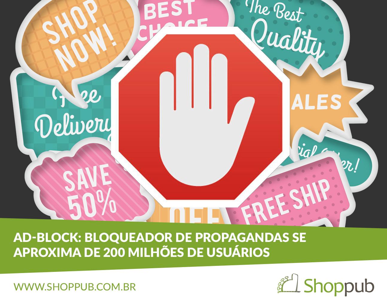 Ad-block bloqueador de propagandas se aproxima de 200 milhões de usuários