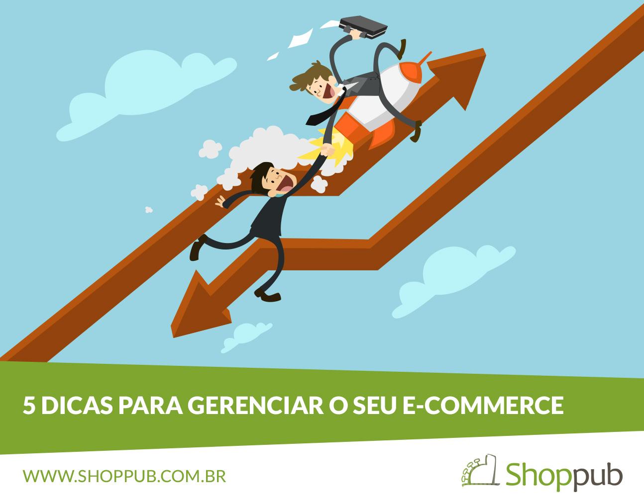 5 dicas para gerenciar o seu e-commerce