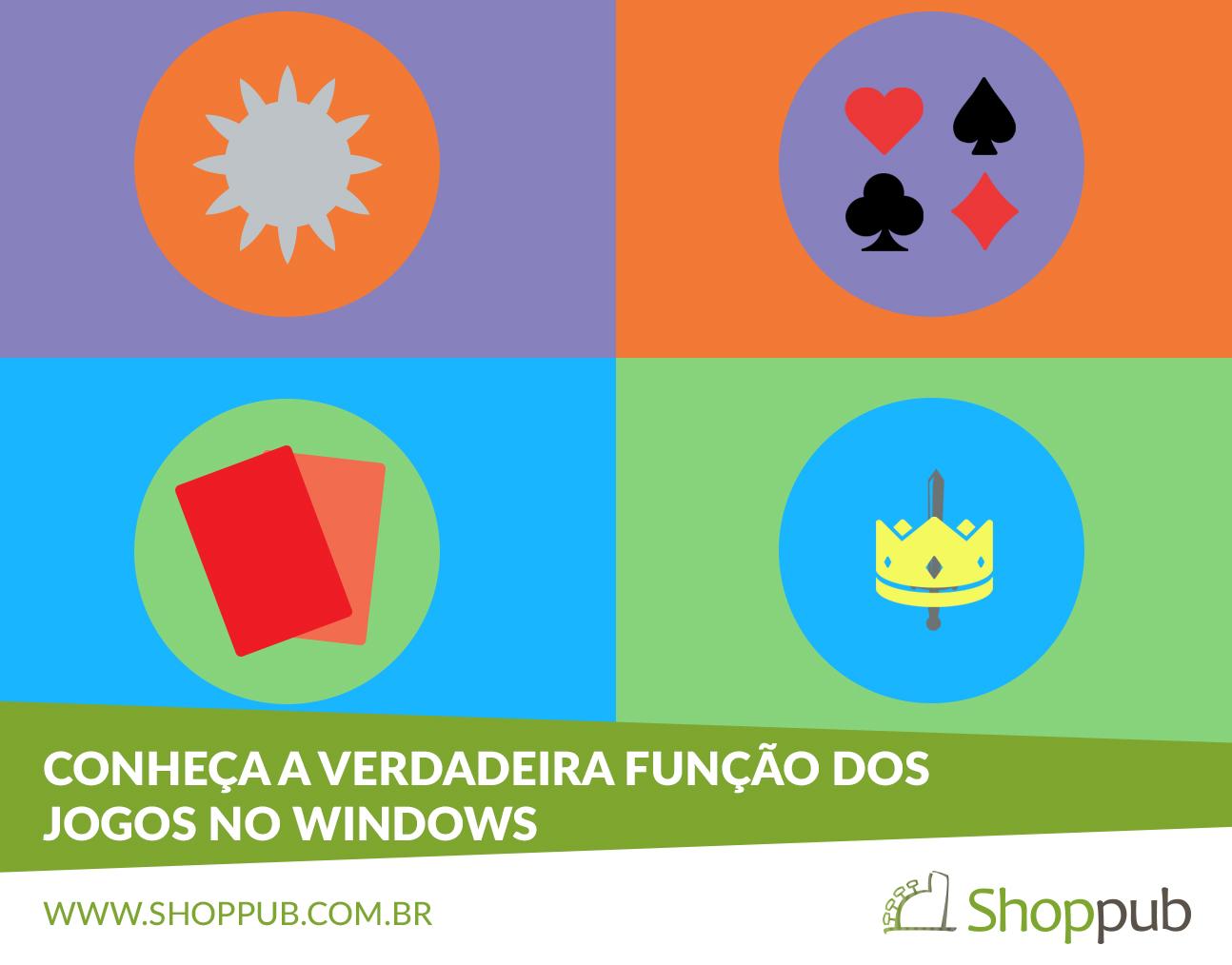 Conheça a verdadeira função dos jogos no Windows