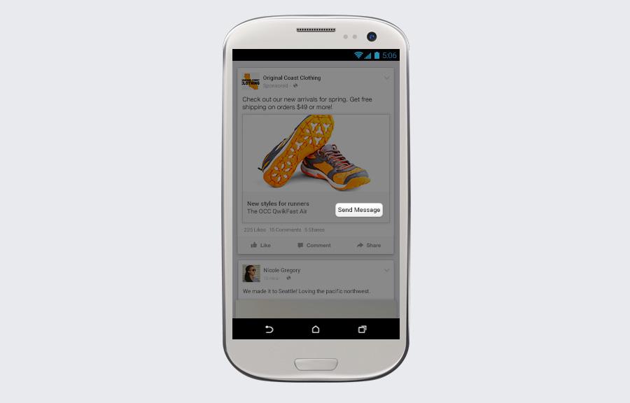 Facebook lança novas opções para empresas e clientes se comunicarem