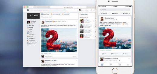 Facebook para o trabalho será lançado até o fim do ano