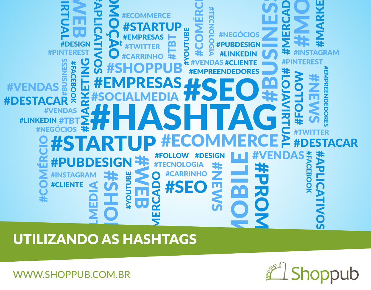 Utilizando as Hashtags