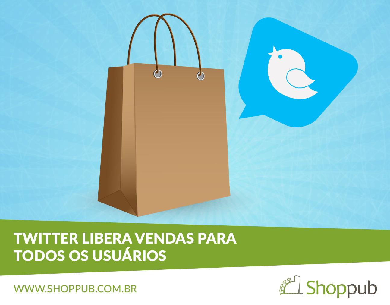 Twitter libera vendas para todos os usuários