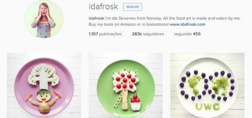 A mulher que posta fotos de comida no Instagram