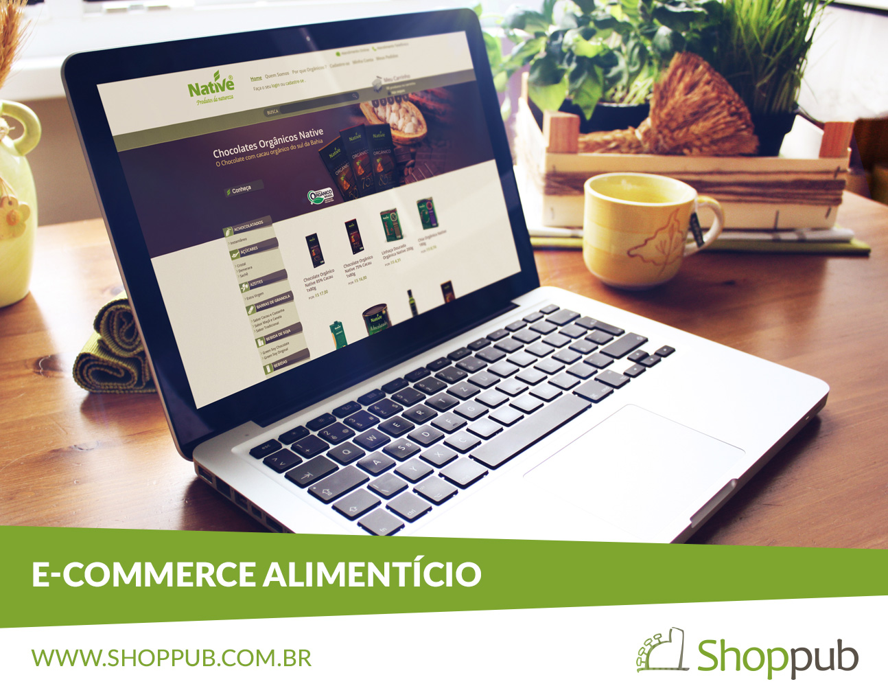 E-commerce alimentício