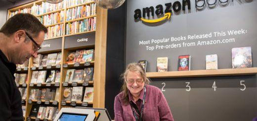 Amazon abre a sua primeira loja física