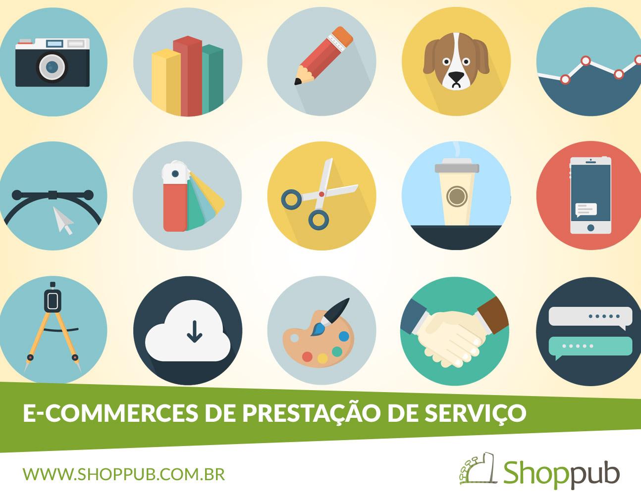 E-commerces de Prestação de Serviço