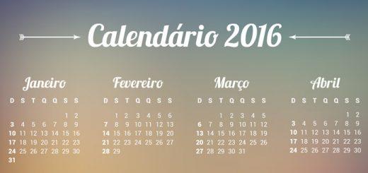 Calendário 2016: datas para o e-commerce