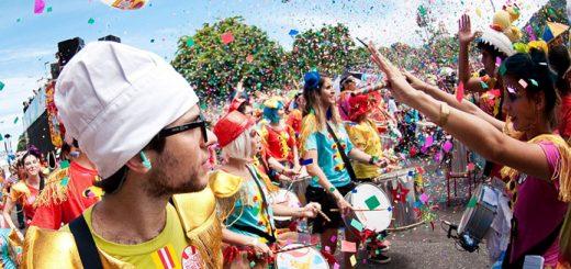 Instagram e Facebook para o Carnaval