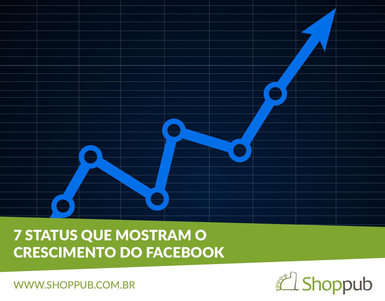 7 status que mostram o crescimento do Facebook