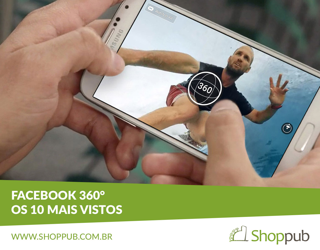 Facebook 360° - Os 10 mais vistos