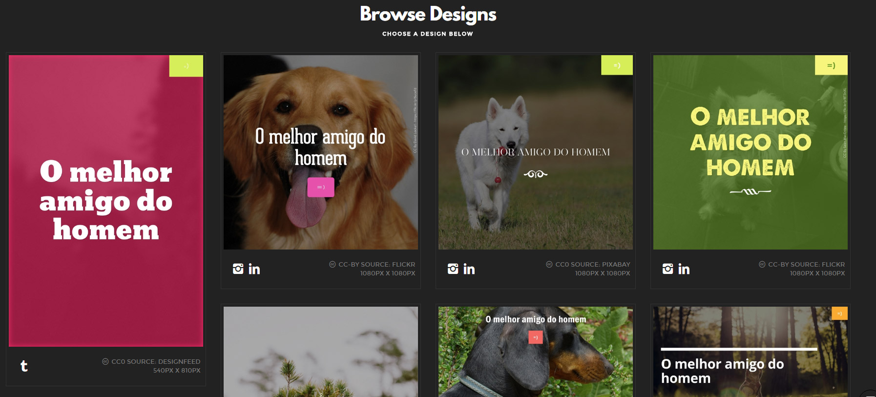 3 ferramentas para criar imagens para redes sociais