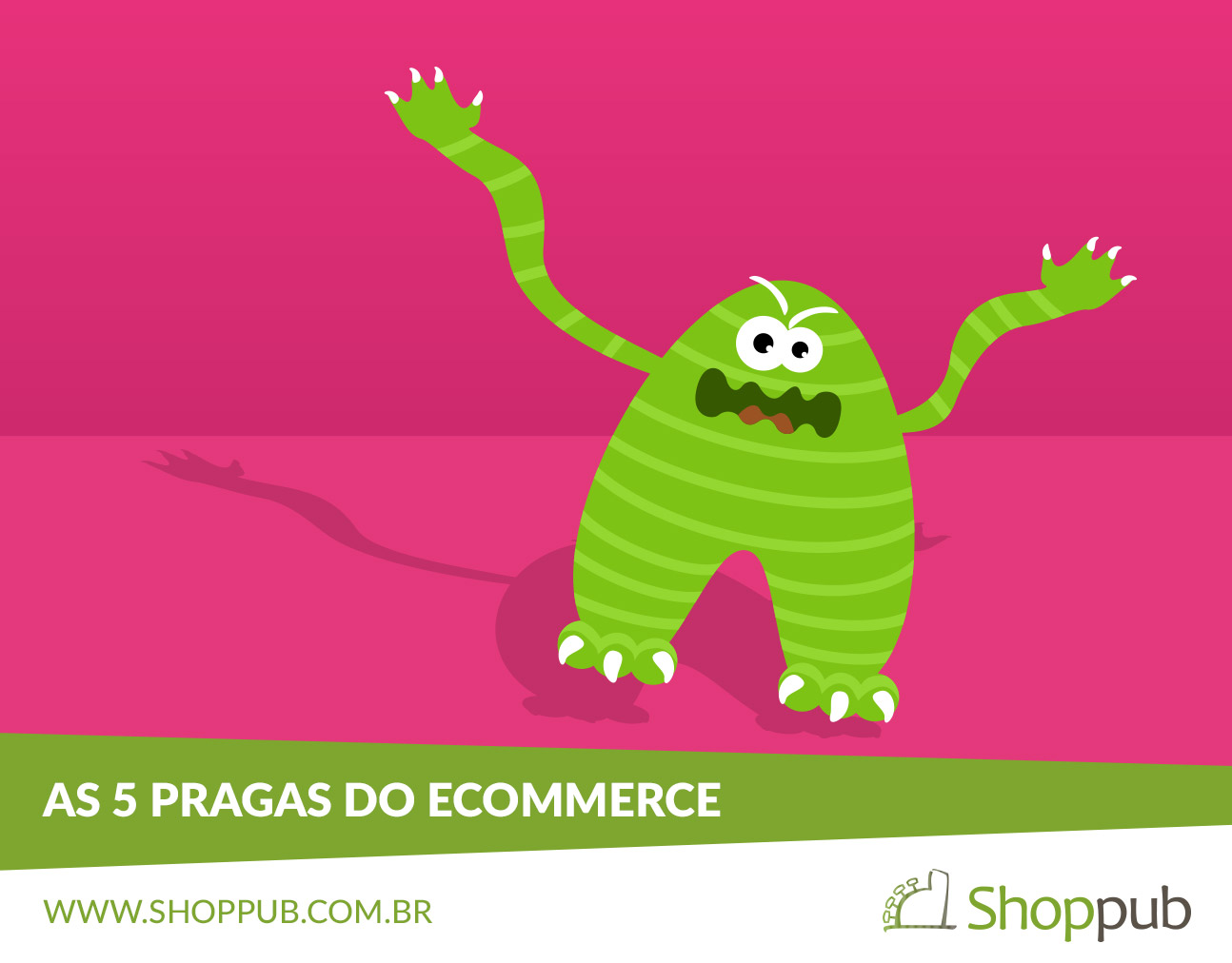 As 5 pragas do e-commerce