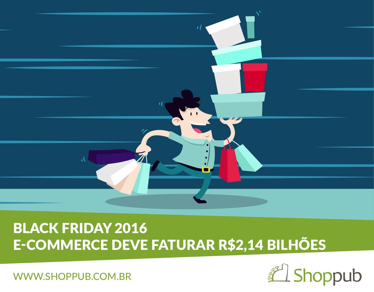 Black Friday 2016 – E-commerce deve faturar R$2,14 bilhões