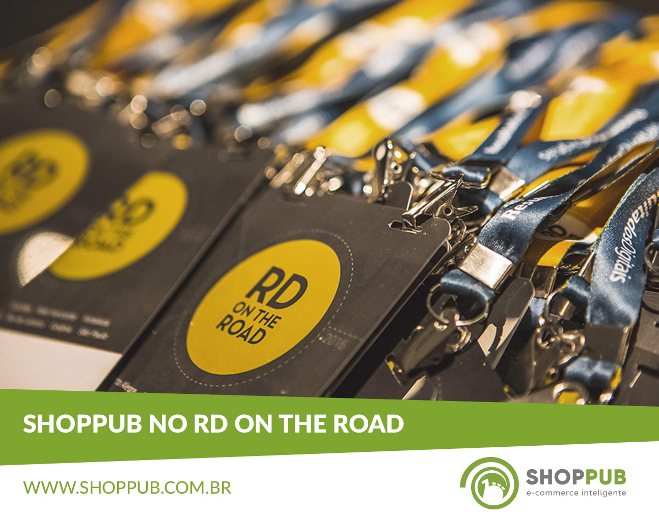 Shoppub no evento RD on The Road