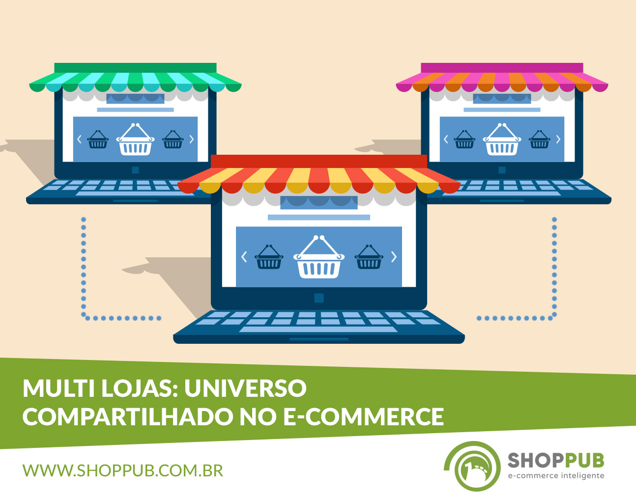 Multi loja: universo compartilhado no e-commerce