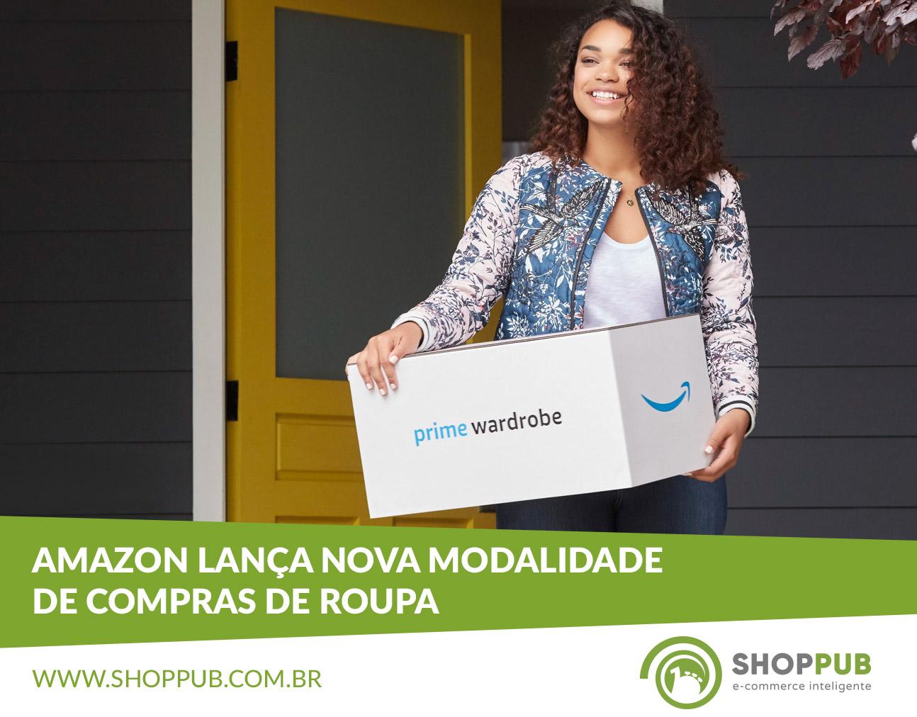 Amazon lança nova modalidade de compras de roupa