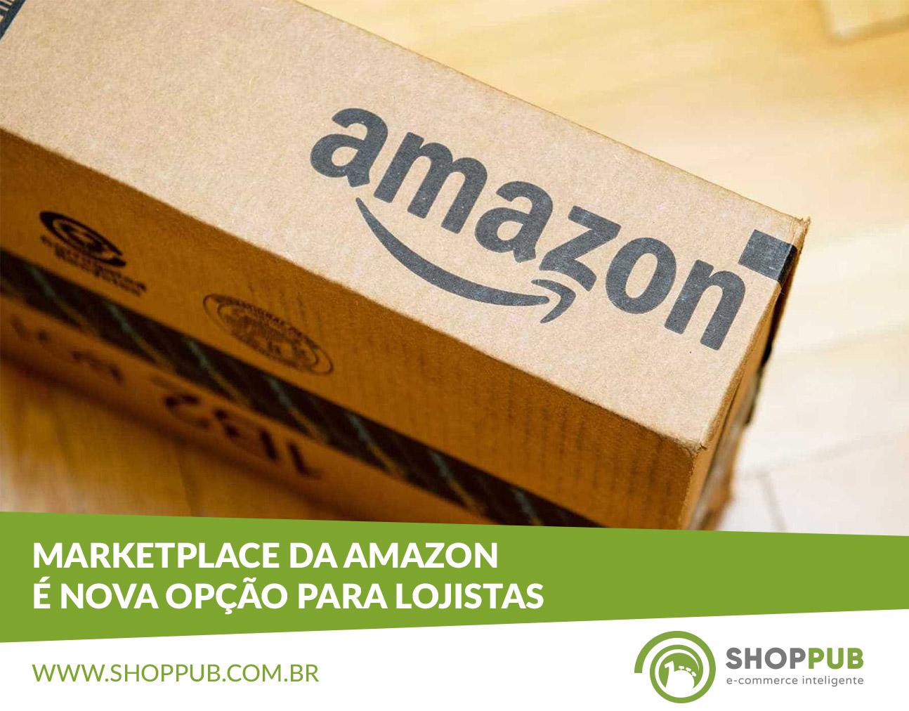 Marketplace da Amazon é nova opção para lojistas