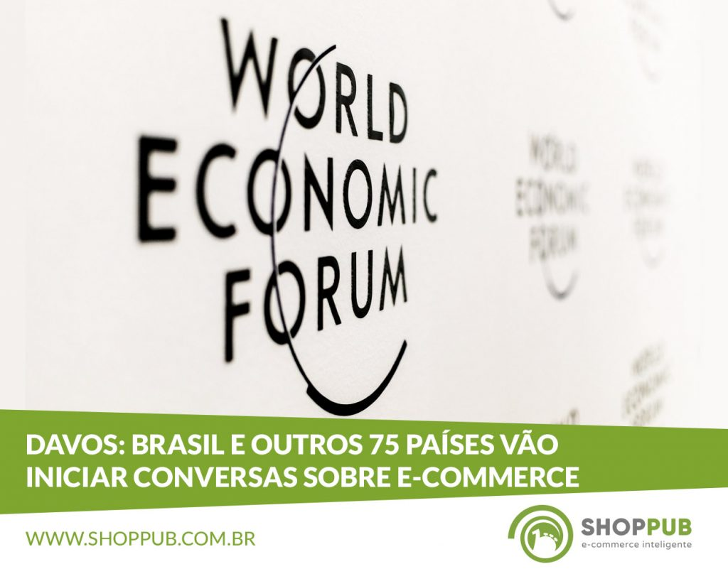 Davos: Brasil e outros 75 países vão iniciar conversas sobre e-commerce