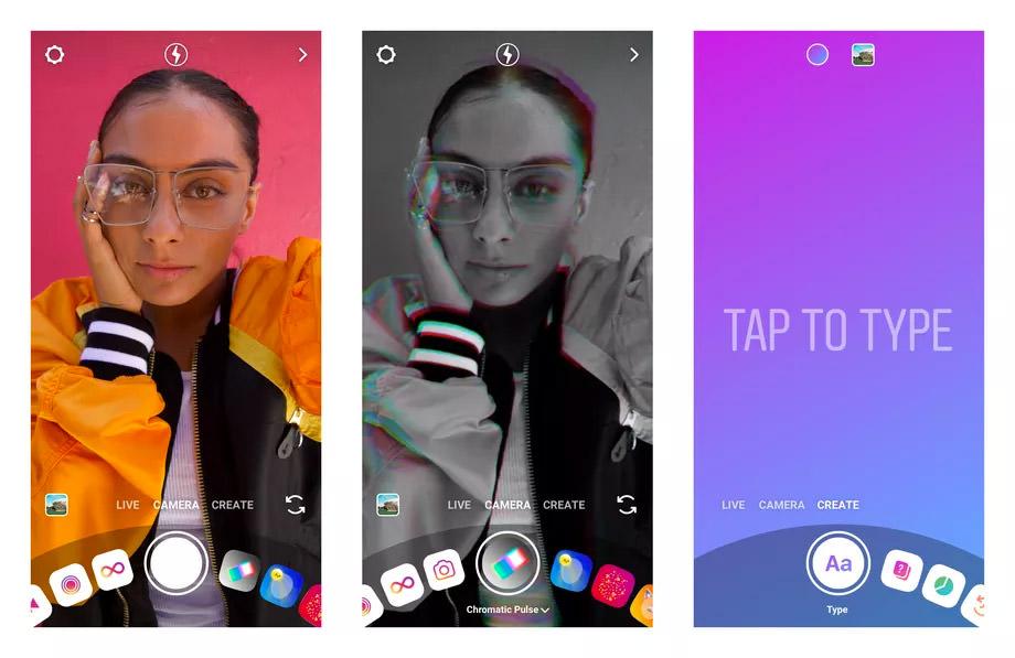 F8: Nova câmera do Instagram