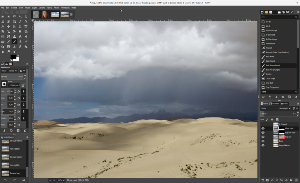 Editar imagens com Gimp